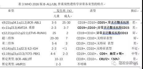前体淋巴组织肿瘤(2)
