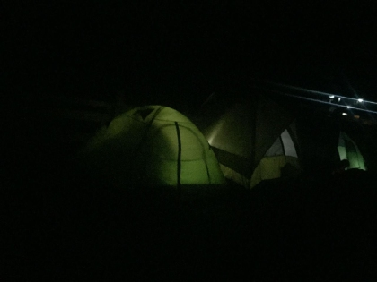 第一次露营