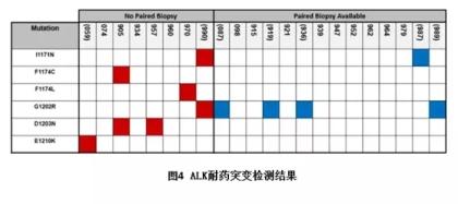 NGS跟踪ALK抑制剂的耐药演变